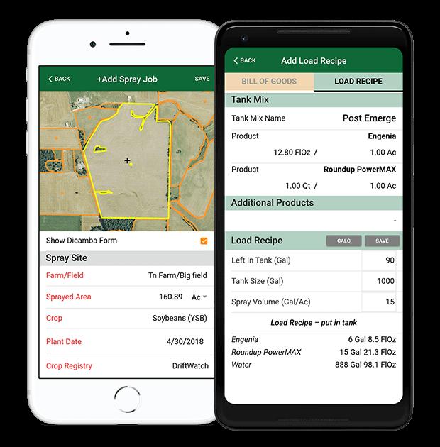Farm Spray Pro | Spray Record Keeping App for Dicamba